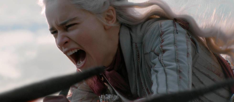 <p>Daenerys bascule petit à petit dans la folie.</p>