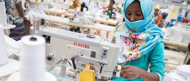 Selon l'édition 2016 du Rapport sur l'investissement dans le monde, l'Éthiopie se trouve au deuxième rang en matière d'investissement direct étranger dans le secteur de l'industrie textile, après le Vietnam.