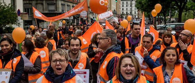 8ea54b59d6a Réforme de la fonction publique   entre 108 900 et 250 000 manifestants en  France - Le Point