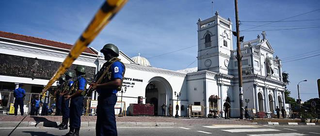 Face à la crainte de nouvelles attaques, les messes dominicales n'étaient pas organisées.