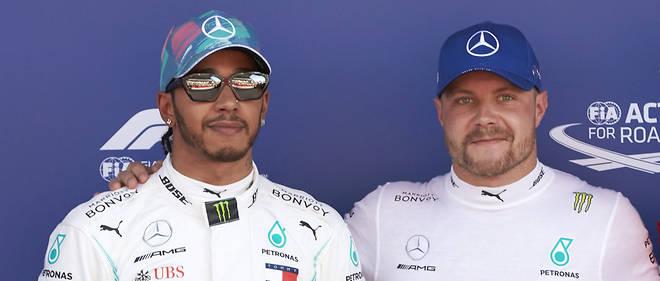 Cette fois, c'est au tour de Hamilton de finir devant Bottas, mais c'est encore un doublé Mercedes au GP d'Espagne de Formule 1 2019.