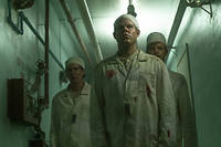 Les techniciens de la serie << Chernobyl >>, creation HBO difusee sur OCS.