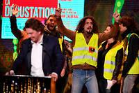 Un Gilet jaune a annoncé un « molière du déshonneur » pour le président de la République Emmanuel Macron.