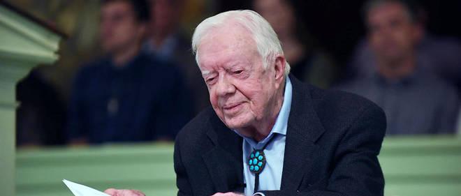 Jimmy Carter a remporté le prix Nobel de la paix en 2002.
