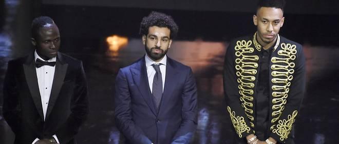 Concurrents pour le titre de meilleur joueur africain de l'année, Mané, Salah et Aubameyang sont ensemble les meilleurs buteurs de Premier League.