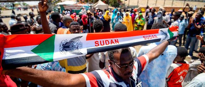 Des manifestants à Khartoum, le 14 mai 2019.