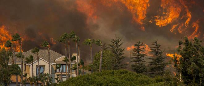 Les incendies qui ont ravagé la Californie en novembre 2018 ont fait suite à une sécheresse extrême dans l'État américain.