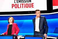 Depuis des semaines, les listes Rassemblement national et LREM-MoDem, conduites respectivement par Jordan Bardella et Nathalie Loiseau, font la course en tête dans un mouchoir de poche.