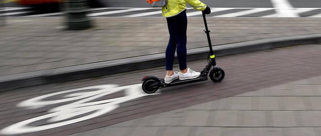 """Les """"engins de déplacement personnel motorisés"""" (EDPM), comme les trottinettes électriques, se sont développés à grande vitesse dans la période récente."""