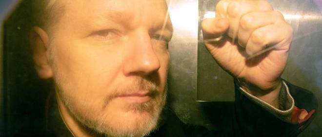 Julian Assange a été arrêté à l'ambassade d'Équateur à Londres le 11 avril dernier.