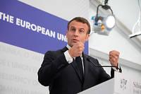 Le président a déclaré qu'il mettrait « toute [son] énergie » pour faire en sorte que le parti de Marine Le Pen ne soit «pas en tête » en France lors du scrutin du 26 mai.