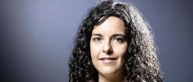 Manon Aubry, la tête de liste LFI aux élections européennes.