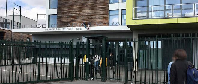 Le collège Cesária-Évora à Montreuil.