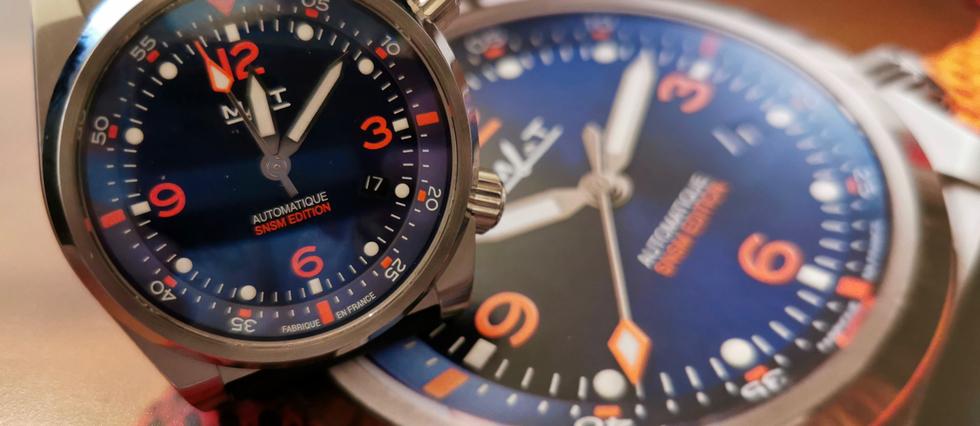 <p>Offrez-vous une montre made in France tout en finançant le sauvetage en mer.</p>