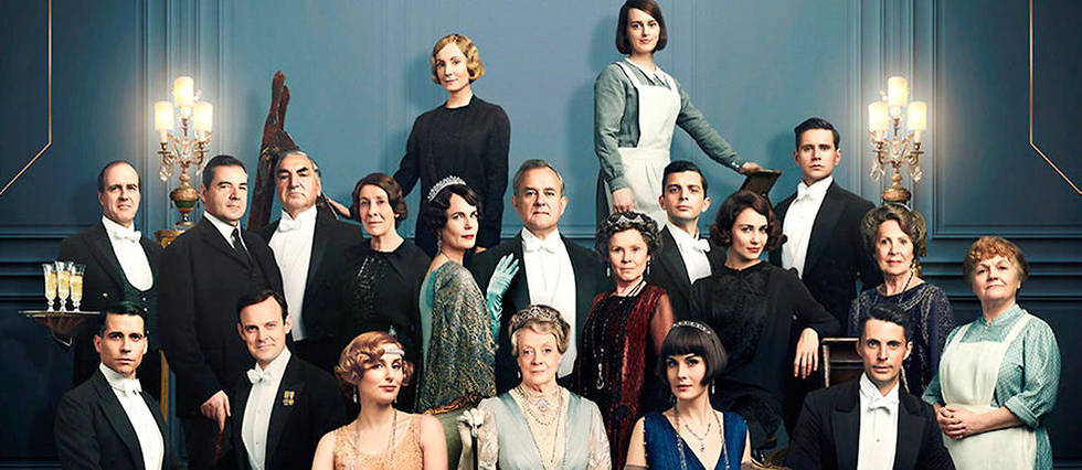"<p>Le casting de ""Downton Abbey"", le film, au grand complet. En salle, le 28 septembre. </p>"