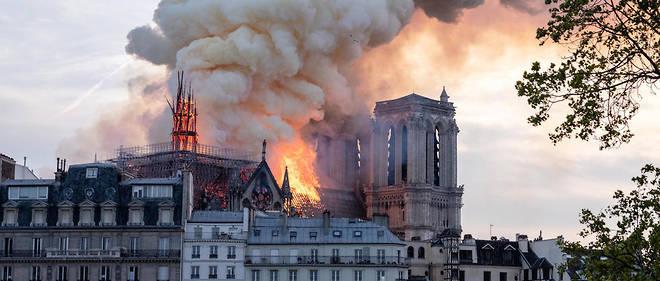 L'incendie du 15 avril 2019 avait ravagé la toiture de Notre-Dame-de-Paris.