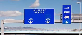 À proximité de la frontière franco-suisse.