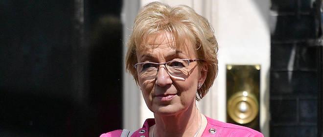 Figure du Parti conservateur, Andrea Leadsom, 56 ans, était la finaliste malheureuse dans la course au poste de chef du gouvernement en 2016 face à Theresa May.