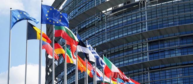 Le siège du Parlement européen à Strasbourg.
