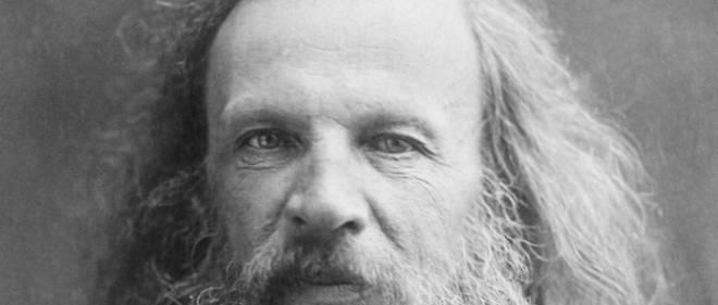 Dmitri Mendeleïev, chimiste russe.