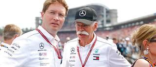 Passage de témoin chez Daimler entre Ola Källenius (à gauche) et Dieter Zetsche