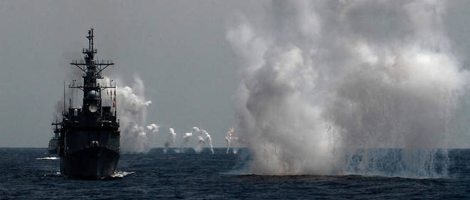 « Le passage des bateaux dans le détroit de Taïwan prouve l'engagement des États-Unis envers une région indo-pacifique libre et ouverte », a précisé la marine américaine (Illustration).