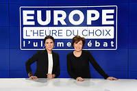 Ruth Elkrief et Apolline de Malherbe présenteront l'ultime débat avant les européennes sur BFM TV jeudi 23 mai 2019.