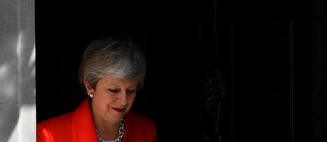 Theresa May était arrivée au 10 Downing Street le 13 juillet 2016.