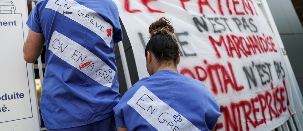 Greve aux urgences: 65 services touches, journee nationale le 6 juin