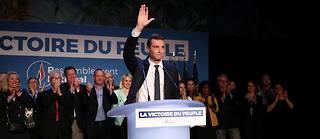 Selon les instituts de sondage, à 22 heures, le Rassemblement national devance la République en marche. ©Arnaud Journois