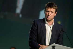 <p>La tête de la liste d'Europe Écologie-Les Verts aux élections européennes Yannick Jadot a décroché la 3e place du scrutin.</p>