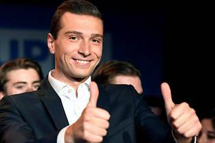<p>Le choix de Marine Le Pen de nommer Jordan Bardella pour mener la liste RN s'est avéré payant.</p>
