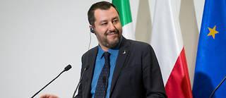 Matteo Salvini, chef du Mouvement 5 étoiles, sort gagnant des élections européennes en Italie.
