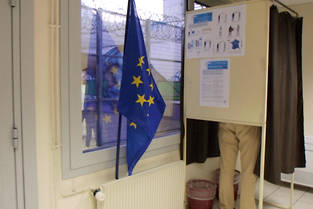 <p>Dans la maison d'arrêt de Tours, où les détenus éligibles ont pu voter par correspondance. </p>