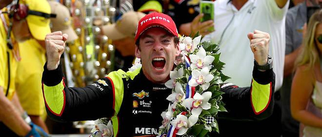 Dimanche, Simon Pagenaud a remporté les mythiques 500 Miles d'Indianapolis.