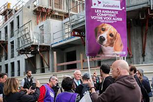 <p>Le Parti animaliste récolte 2,2 % des voix.</p>