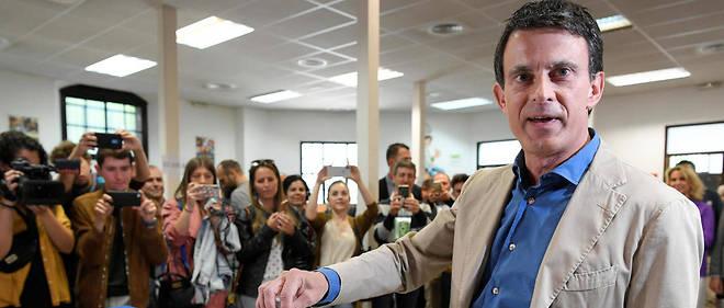 Manuel Valls avait annoncé que, victorieux ou pas, il resterait à Barcelone.