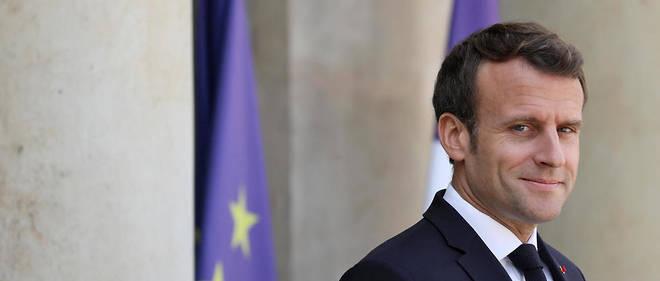 Emmanuel Macron à l'Élysée le 3 mai 2019.