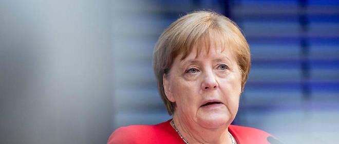 Angela Merkel ne s'est pas exprimée après la publication des résultats des élections européennes en Allemagne.