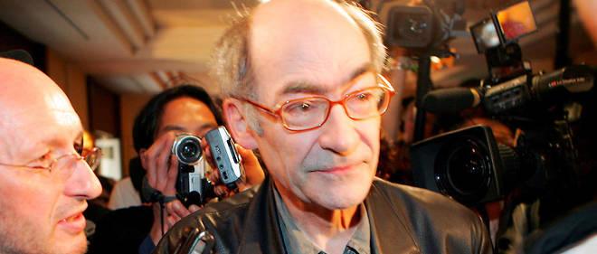 François Weyergans lors de son prix Goncourt en 2005.