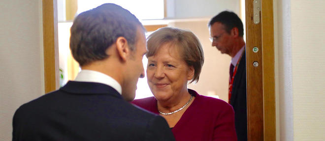 Angela Merkel et Emmanuel Macron ont déjà eu une entrevue ce mardi au siège de la Commission européenne.