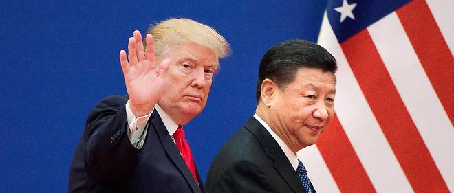 Donald Trump et son homologue chinois Xi Jinping.