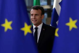 <p>Emmanuel Macron, le 10 avril 2019.</p>