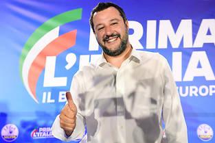 <p><< Apres le scrutin europeen, je ne demande aucun remaniement, aucun ministere, aucune <em>golden share</em>, le gouvernement de coalition Ligue-M5S doit se remettre immediatement a travailler pour le bien des Italiens. >></p>