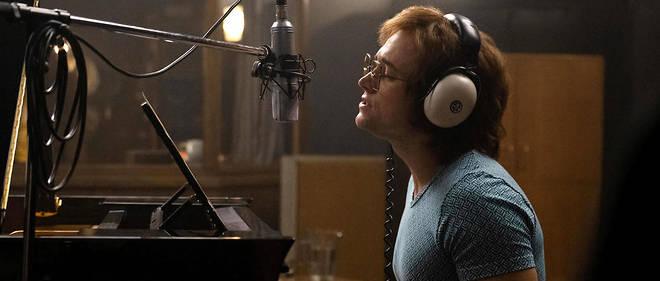 Taron Egerton en Elton John.