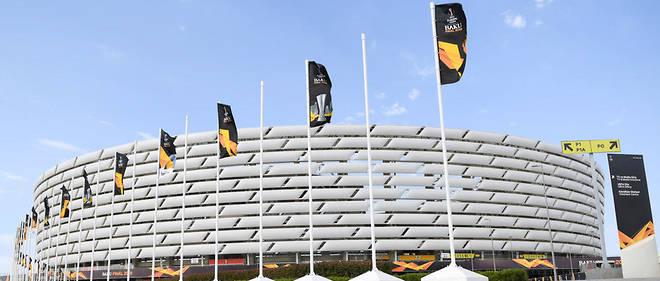 Le stade de Bakou, où Chelsea et Arsenal s'affrontent en final de la Ligue Europa.