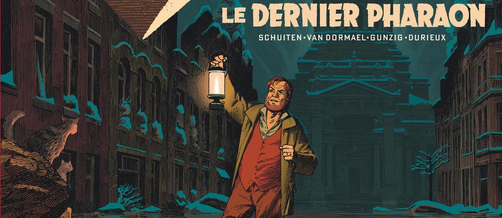<p>La nouvelle aventure de «Blake et Mortimer», «Le Dernier Pharaon».</p>