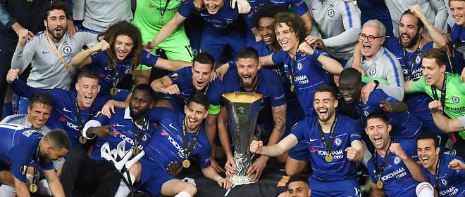 Vainqueurs d'Arsenal (4-1), les Blues remportent la Ligue Europa !