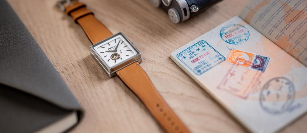 <p>Des montres conçues et fabriquées en France pour fêter les 150 ans de Bodet, une grande entreprise familiale.</p>