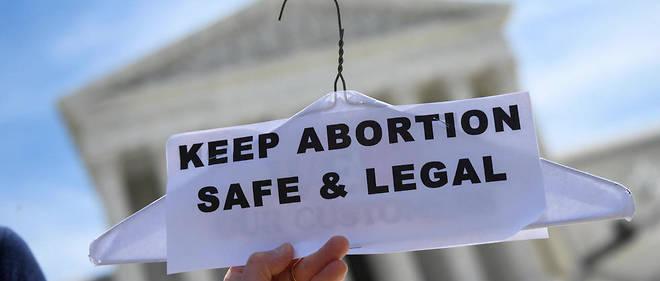 Les manifestations se sont multipliées ces dernières semaines pour défendre le droit à l'avortement aux États-Unis. Photo d'illustration.